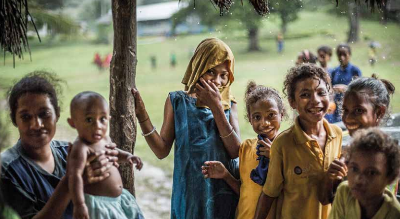 Report on tuberculosis uncovers widespread impact of epidemic on children in Papua New Guinea
